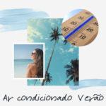 Ar condicionado no verão