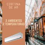 Principais vantagens da cortina de ar