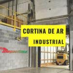 Cortinas de ar de aplicação industrial