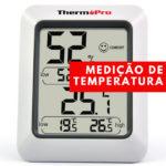 Aparelhos de medição de temperatura