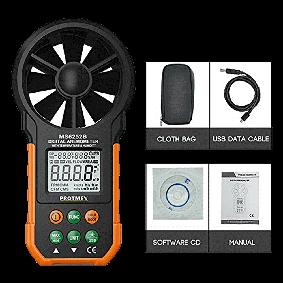 Anemómetro Digital Protmex