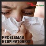 O ar seco e os problemas respiratórios