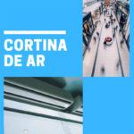 A cortina de ar condicionado para porta