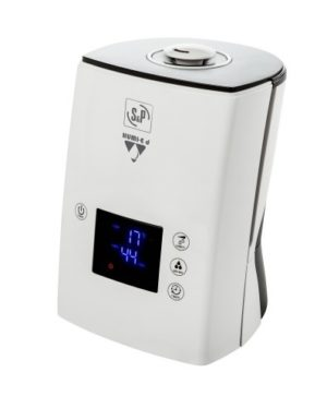 Humidificador Ultra-sónico com Higrómetro Electrónico com Precisão